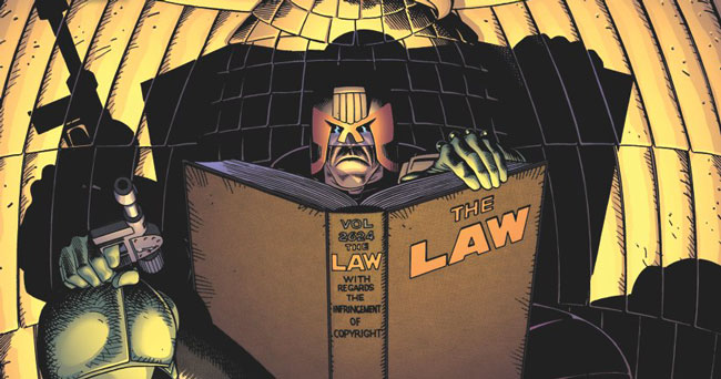 Reading Judge Dredd